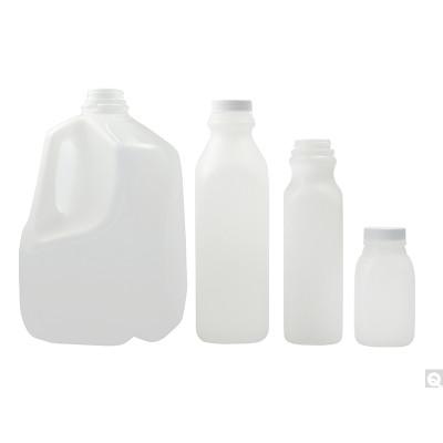 16oz (480mL) HDPE Dairy Jug, 38-400 PP SturdeeSeal PE Foam Lined Caps, case/400