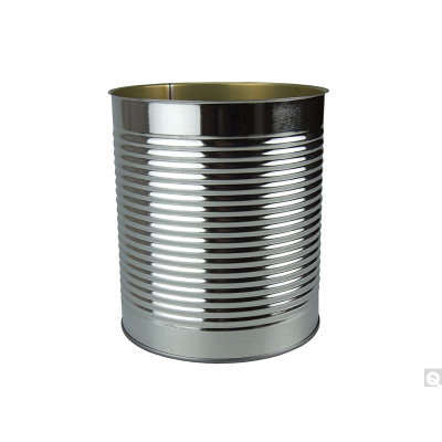 603 x 700 (105.1oz) Green Enamel Lined Open Top Round Can, case/6