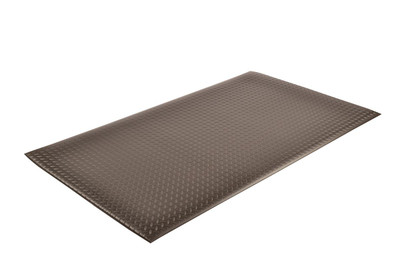 Anti-Fatigue Mat, Sponge, 419 Diamonds Sof-Tred w/ Dyna-Shield