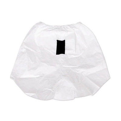 Disposable Neck Cape White Tychem 2000 (QC) Double Bib, pack/40