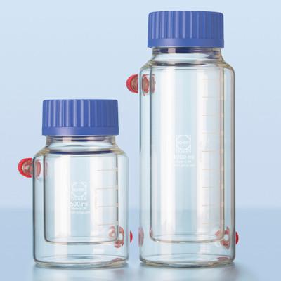 DURAN® Insulated Double-Wall Circulation Bottle, 1000mL, GLS-80 Cap