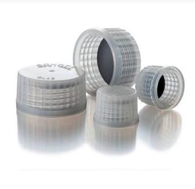 DURAN® PURE Premium Screw Caps, PFA with PTFE Liner, GL25, pack/5