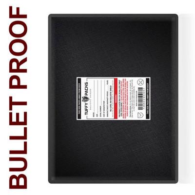 "Ballistic Shield for Briefcase, 11 x 14"" Bulletproof Laptop Case Insert"
