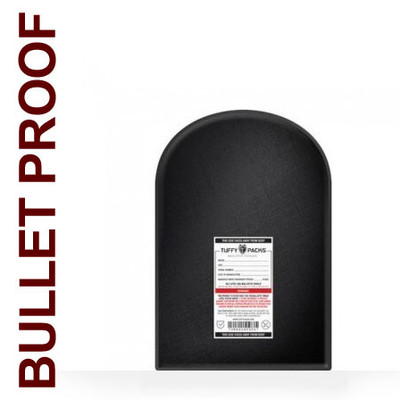 "Ballistic Shield for Small Backpacks, 11 x 14"" Bulletproof Back Pack Insert"