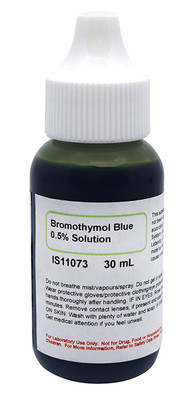 Bromothymol Blue Solution, 0.5%, (Aqueous) 30mL