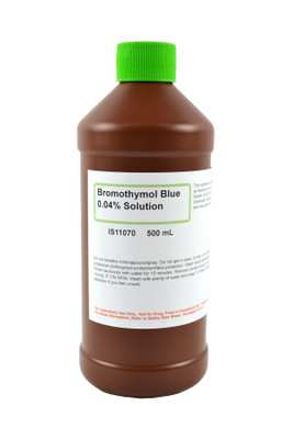 Bromothymol Blue Solution, 0.04%, (Aqueous), 500mL