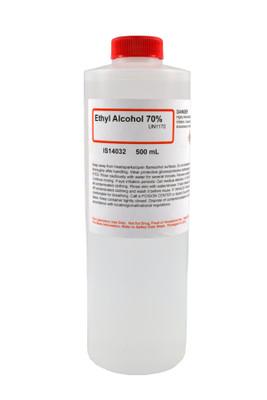Ethyl Alcohol, Ethanol, 70%, 500mL