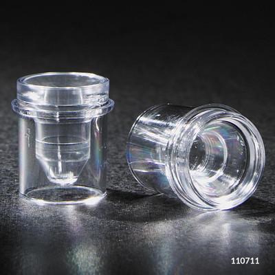 Sample Cups, 0.25mL, Polystyrene, bag/1000