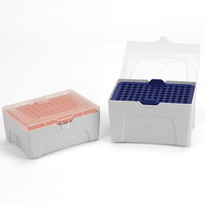 Pipette Tip Rack for 1250uL Pipette Tips and Refill Plates, box/6