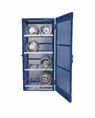 Gas Bottle & Cylinder Storage Cage, 8 Cylinder