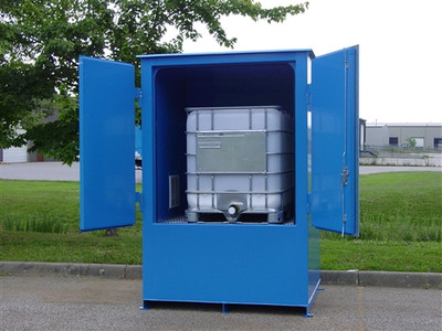 1-Tote IBC Containment Locker, Fire Rated