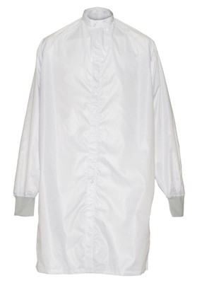 Cleanroom Frock Coat, Integrity® 1800, White