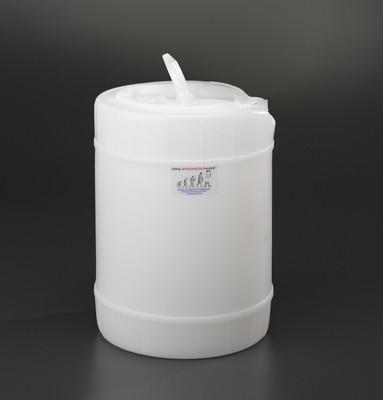 5 gallon drum, Plastic with 70mm cap size (FS70)