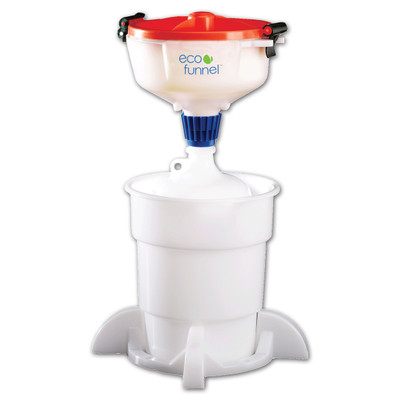 """8"""" ECO Funnel® System, 4 liter, 38-430 Cap with Secondary Container"""