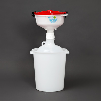 "8"" ECO Funnel® System, 8 Liter, 53mm, Secondary Container"