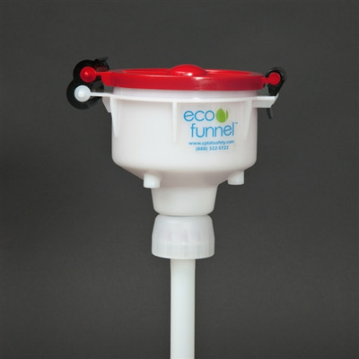 """4"""" ECO Funnel with 38-400 cap adapter for Jugs"""