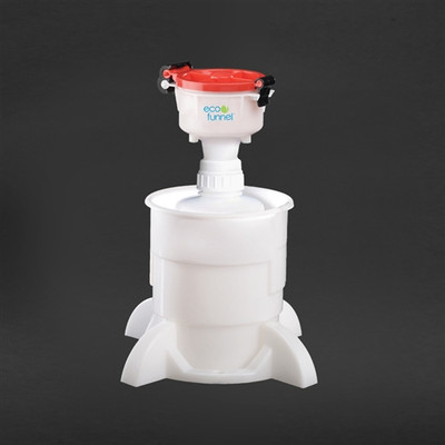 """4"""" ECO Funnel System, 2 Liter, Heavy Duty 53mm, Secondary Container"""