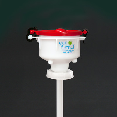 """4"""" ECO Funnel® with 70mm 8TPI cap adapter (Rieke FS70)"""