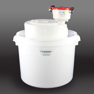 """4"""" ECO Funnel® System, 5 gallon, 70mm (FS-70) Secondary Container"""