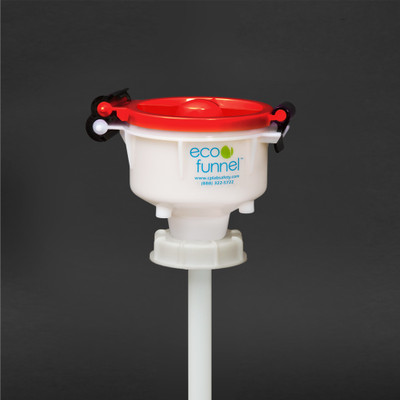 "4"" ECO Funnel® with 70mm SW cap adapter (6TPI Buttress)"