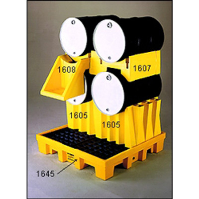 Eagle® Drum Stacking Platform, Double Drum Poly Stacker