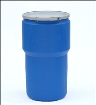 Lab Drum, Eagle Lab Pack 14 gallon Blue with Metal Lever-Lock Ring