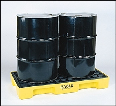 Eagle® 2-Drum Spill Pallet, Modular Platform