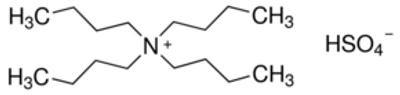 Tetrabutylammonium Hydrogensulfate Anhydrous Redi-Dri 97% 1 Kg Case/6