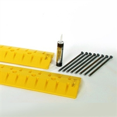 Anchor Kit for Speed Bumps (6 Anchors & Adhesive)