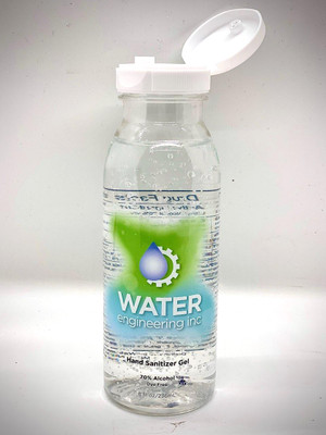 Bulk Antiseptic Hand Sanitizer Gel, 8oz Bottles 70% Ethyl Alcohol, USA, case/12