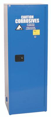 Eagle® Acid Safety  Cabinet, 24 gallon, 1 Door, Self-Closing for Corrosives