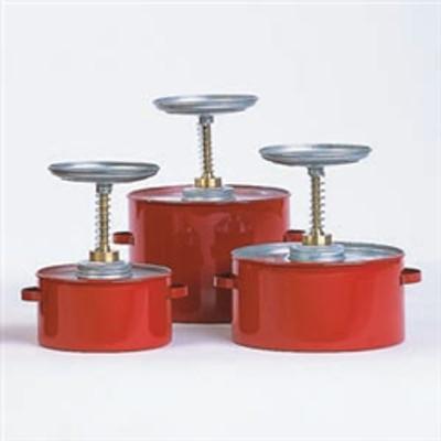 Eagle® Plunger Can, 2 Quart Coated Metal