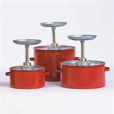 Eagle® Plunger Can, 4 Quart Coated Metal