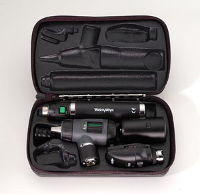 11720 Ophthalmoscope, 23820 Otoscope, Hard Case & Convertible