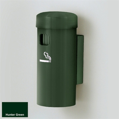 "Deluxe Cigarette Smokers Post, 3.5"" x 8"" Wall Mount, Choose Color"