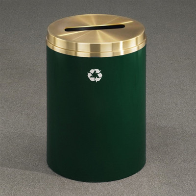 Recycling Bin, RecyclePro Waste Receptacle for Paper, 33 gal