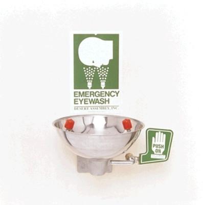 OK-1M Opti-Klens Wall-Mounted Face/ Eyewash Fountain