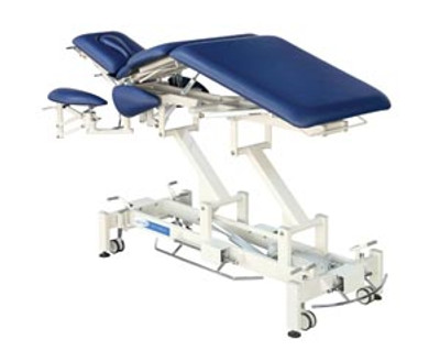 Treatment Table, 7-Section, Pewter Gray