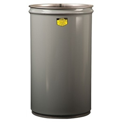 Justrite® Cease Fire Drum Body, 15 gallon, Choose Color