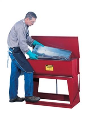 Justrite® 22 gallon Steel Rinse Tank by, Floor Standing
