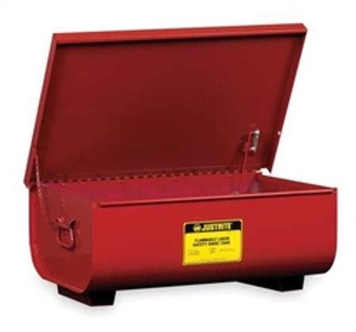 Justrite® 11 gallon Steel Rinse Tank by, Bench Top