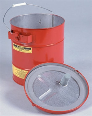 Justrite® Portable Steel Mixing Tank by