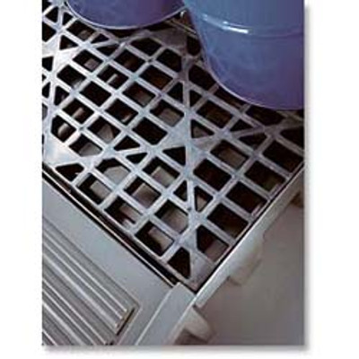 Justrite® Eco Polyblend Replacements Grates, 2-Drum grate