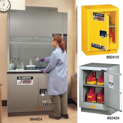 Justrite® Spill Slope Shelf for 30, 45 gallon ChemCor Cabinets