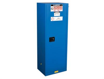 Justrite® Slimline HazMat Safety Cabinet, Self-close Door, 22 Gal Ex
