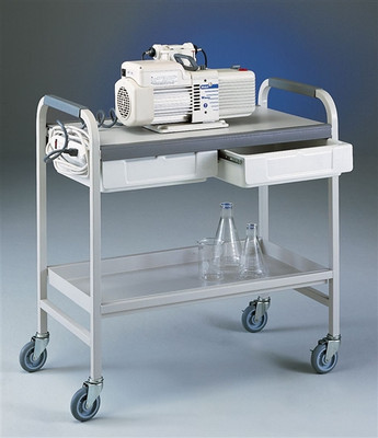 Lab Cart, Utility Cart, Steel for Laboratory Equipment