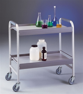 Lab Cart, Chemical Cart, Epoxy-coated Steel