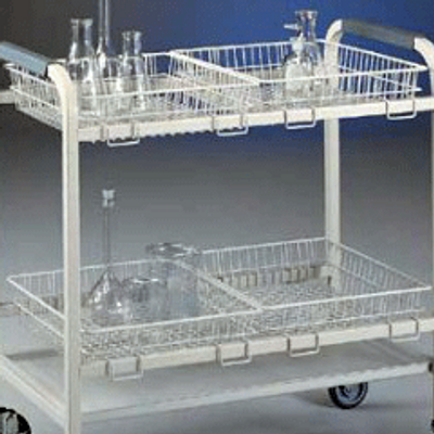 Small Replacement Basket for Glassware Lab Cart