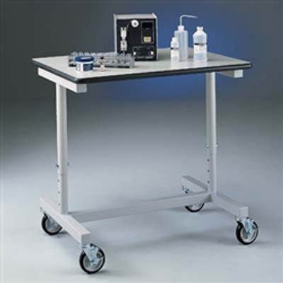 Lab Cart, Variable Height Mobile Lab Bench / Cart