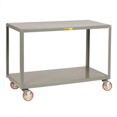 """Mobile Work Tables, Rugged Steel, 24"""" x 48"""""""
